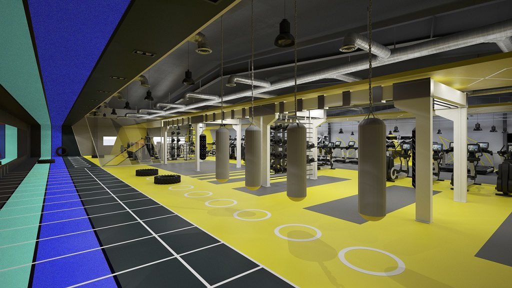 gym designers for global fitness brands