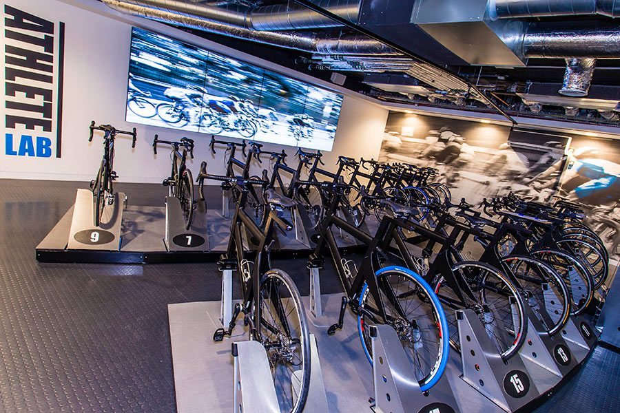 Fitness Centre, Health Club, Gym Hiit, Spinning, Cycling Studio Interior Design & Architecture