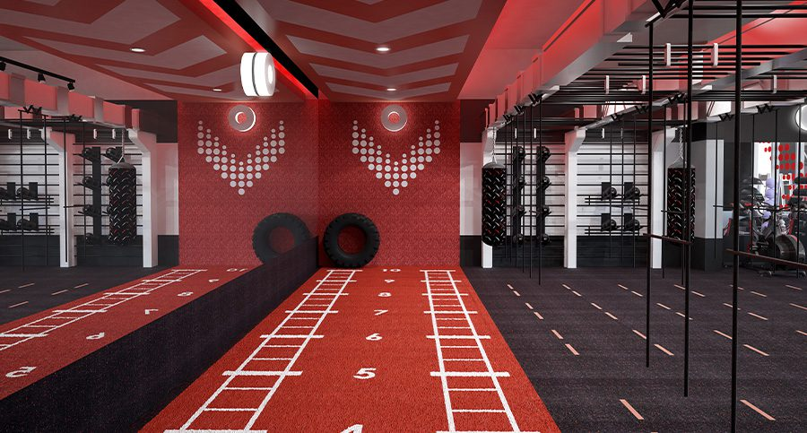 Lifestyle Fitness Centre Interior Designer