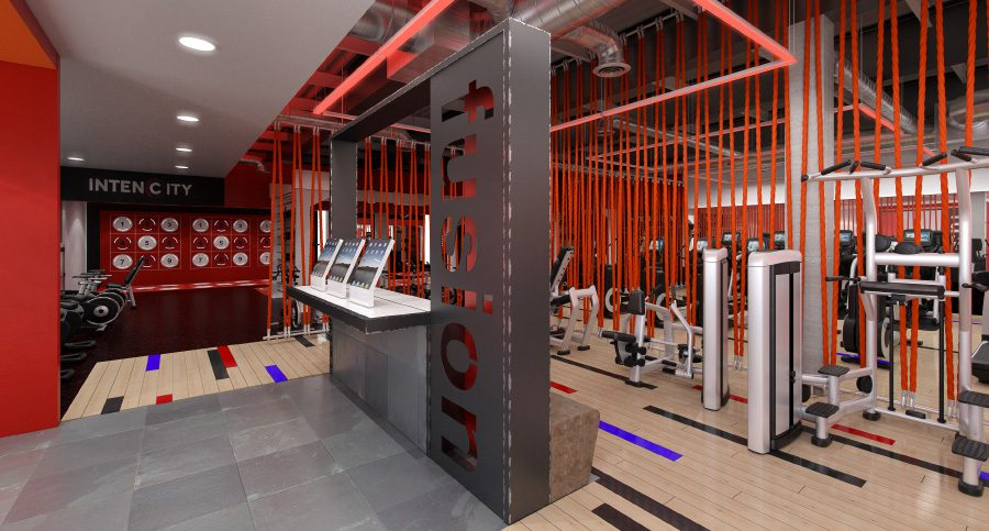 Gym Reception Fit Out