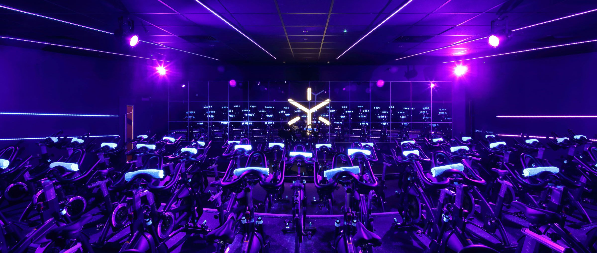 Spinning Studio Interior Design