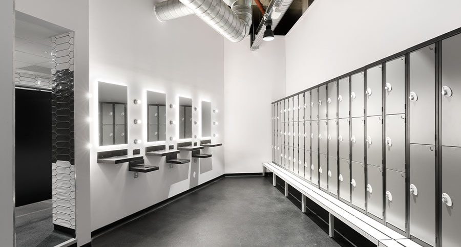 Hiit, Spinning & Boutique Studio Changing Room Interior Designers & Architects