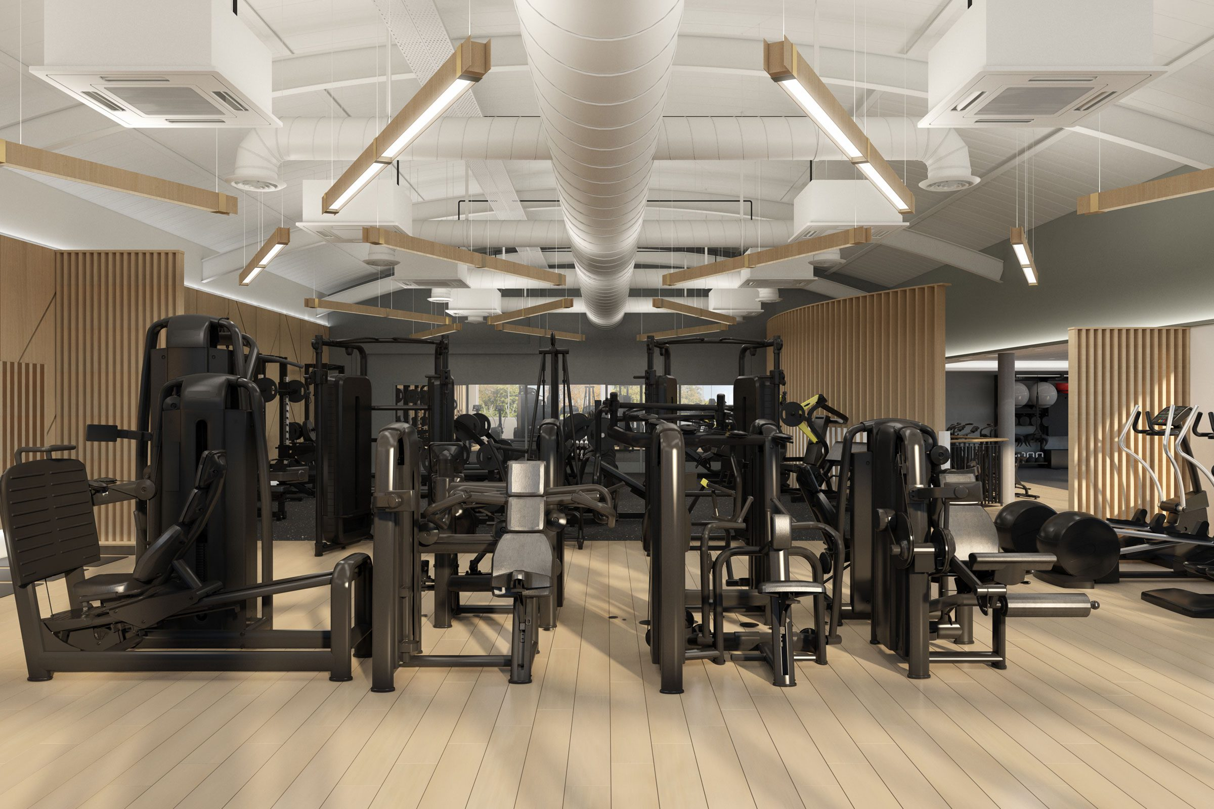 Hotel Fitness Club Architect