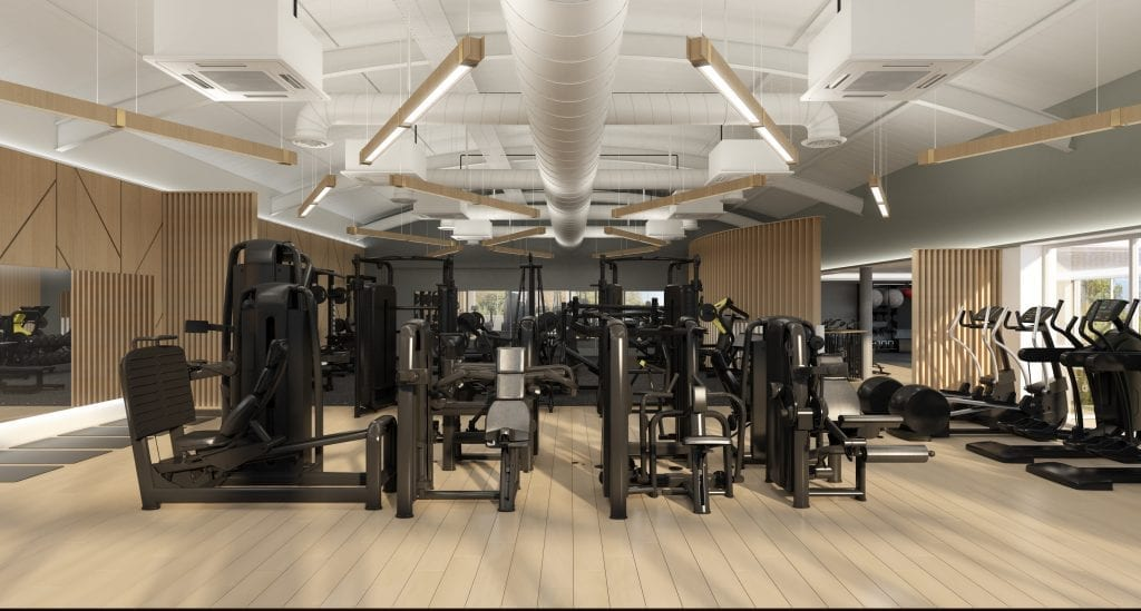 The Lensbury Club Gym Design - Zynk Design